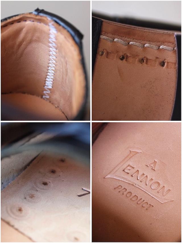 William Lennon Hill Shoes Cap Toe Black-8