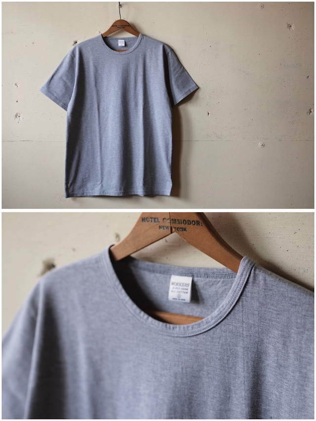 WORKERS 3-PLY Tee Grey-2