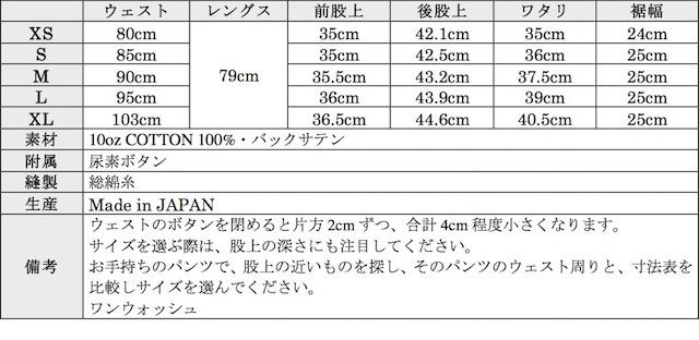 WORKERS Baker Pants Trace MIL-838-D 10oz Reversed Sateen Ecru-Graph