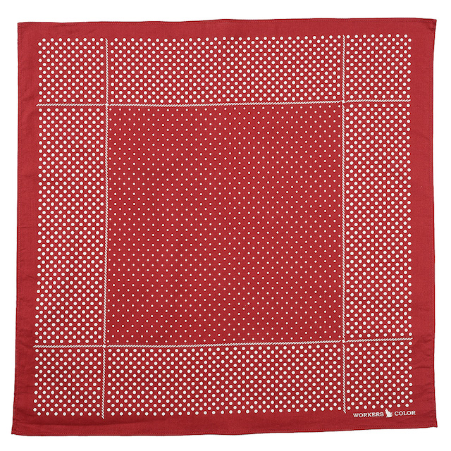 WORKERS Bandanna Red Dot