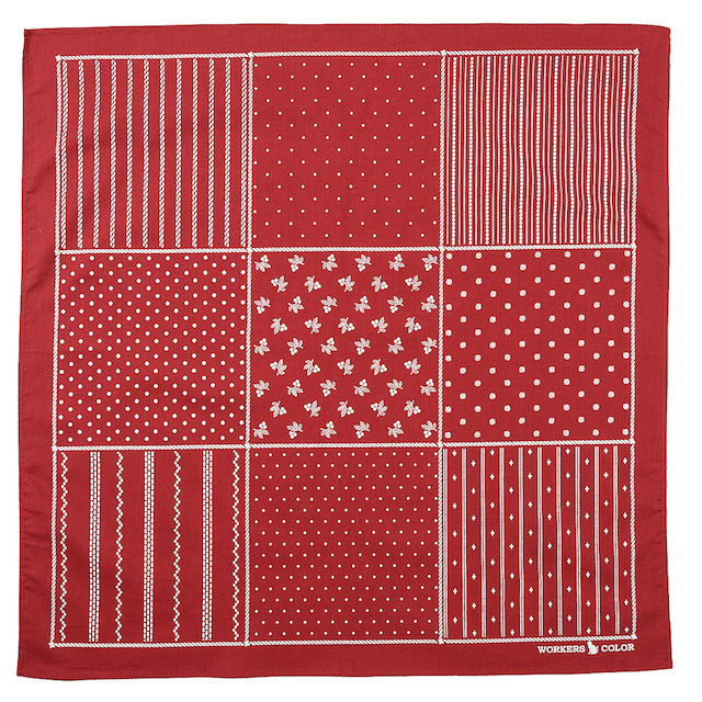 WORKERS Bandanna Red Stifel