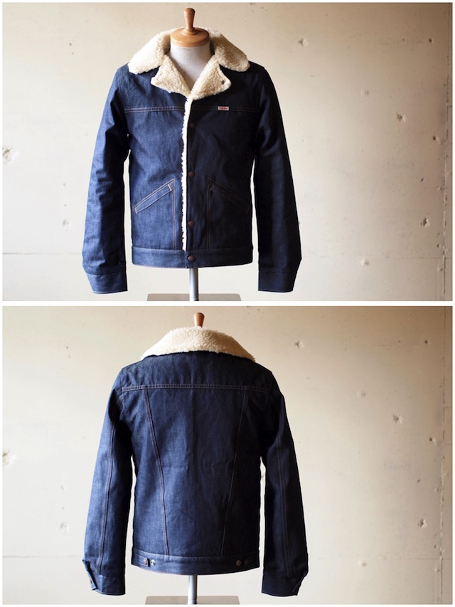 WORKERS Boa Jacket 10oz Denim-4
