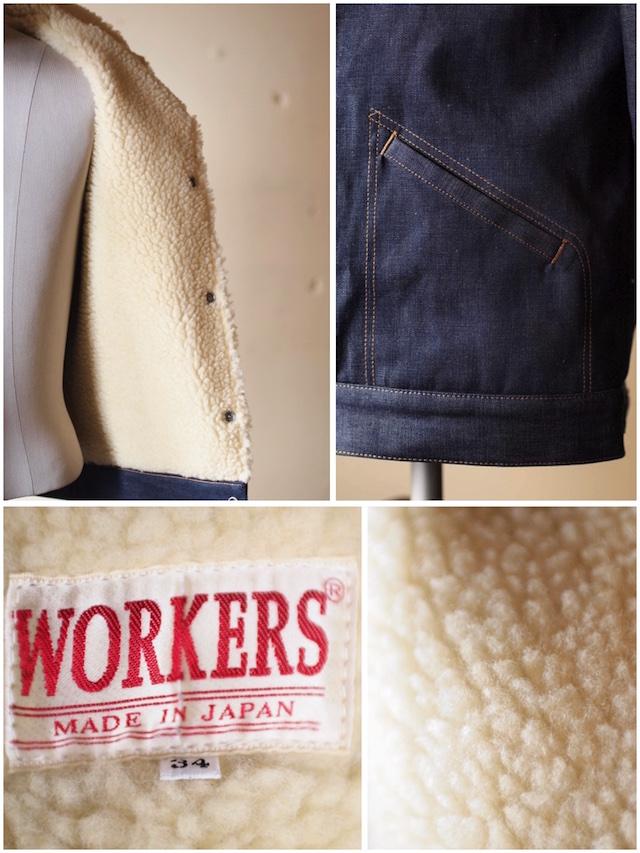 WORKERS Boa Jacket 10oz Denim-7