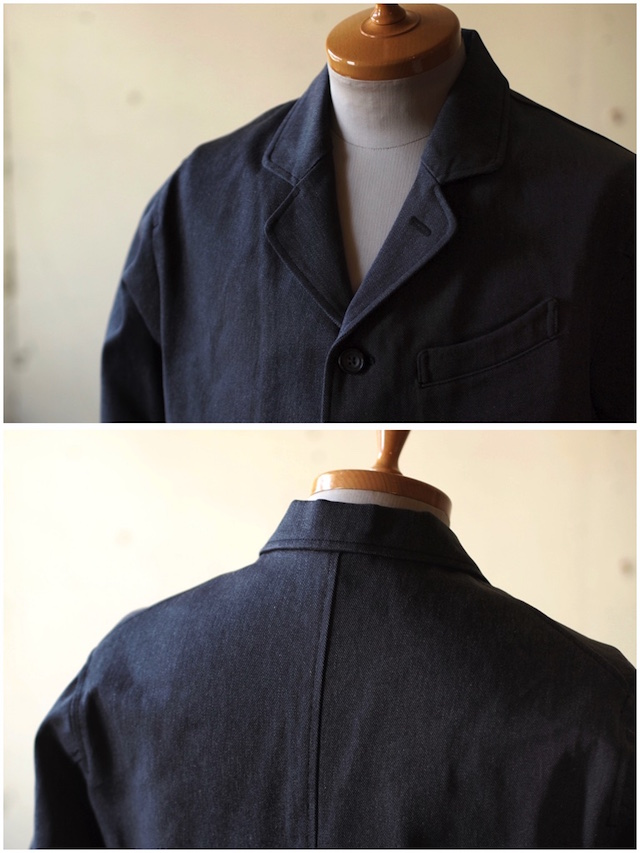 WORKERS Creole JKT Cotton Serge Grey-3