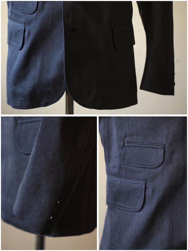 WORKERS Creole JKT Cotton Serge Grey-4