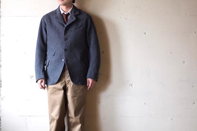 WORKERS Creole JKT Wool Pattern Tweed-2
