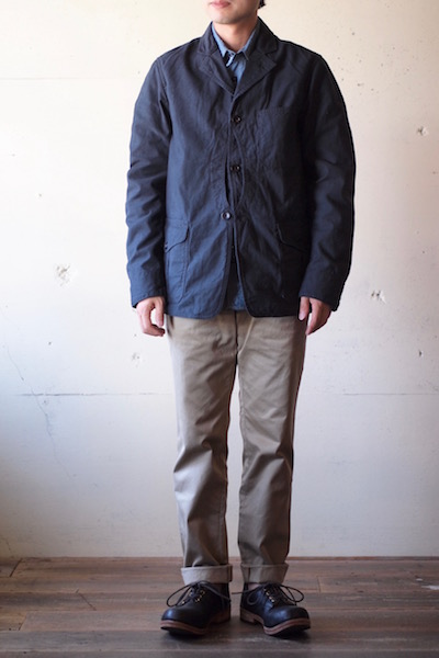 WORKERS Cruiser JKT Reversed Sateen Black-3