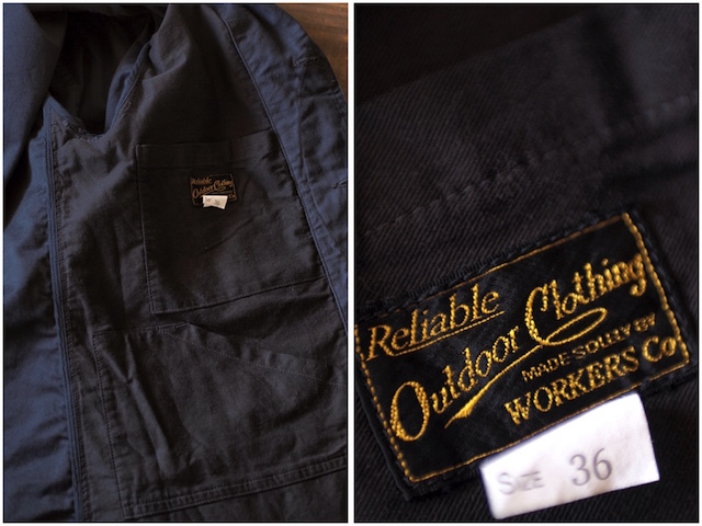 WORKERS Cruiser JKT Reversed Sateen Black-8