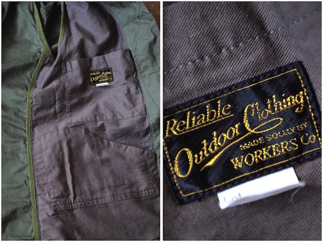 WORKERS Cruiser JKT Reversed Sateen OD-8