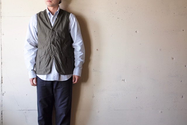 WORKERS Cruiser Shirt, Cotton Ripstop OD-2