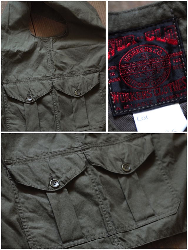 WORKERS Cruiser Shirt, Cotton Ripstop OD-6