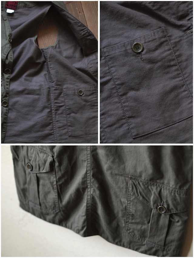 WORKERS Cruiser Shirt, Cotton Ripstop OD-8