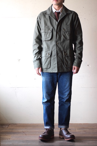 WORKERS Fatigue JKT Reversed Sateen OD-3