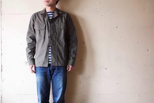 WORKERS Fatigue Shirt Cotton×Cordura Nylon Ripstop OD-2