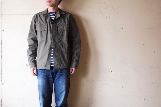WORKERS Fatigue Shirt Cotton×Cordura Nylon Ripstop OD-2