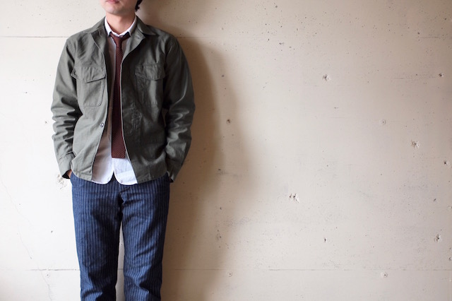 WORKERS Fatigue Shirt MIL-Reversed Sateen OD-2
