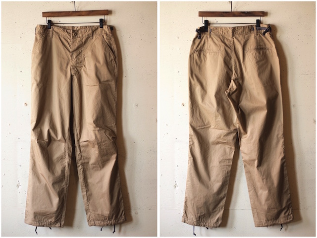 WORKERS FWP Trousers 5oz Twill Beige-4