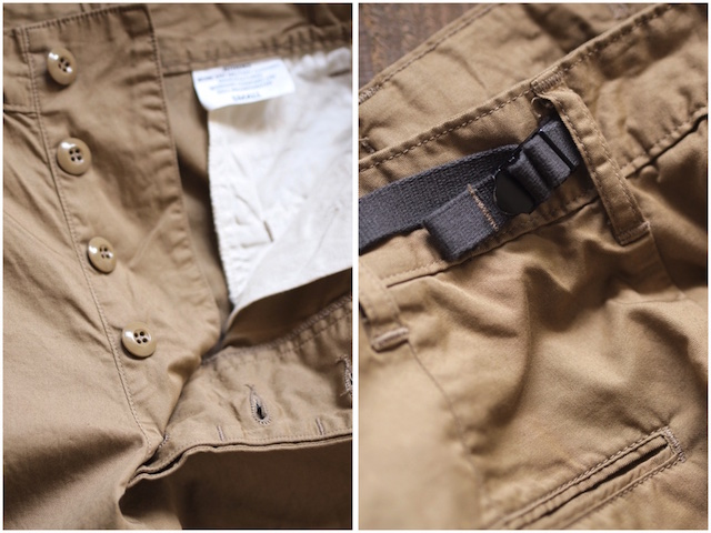 WORKERS FWP Trousers 5oz Twill Beige-6