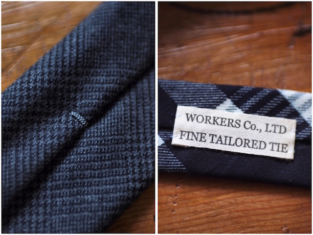 WORKERS Hand Tailored Tie 2016/9-5