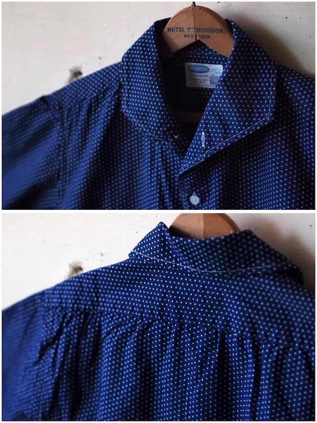 WORKERS Italian Collar Shirt Polka Dot-5