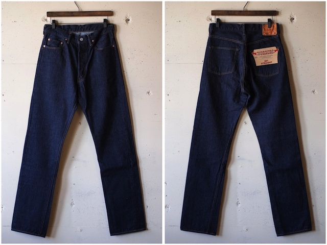 WORKERS Lot.801 Straight Jeans-4