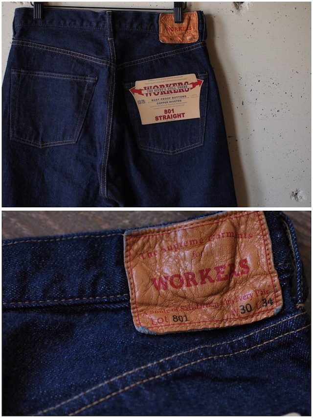 WORKERS Lot.801 Straight Jeans-8