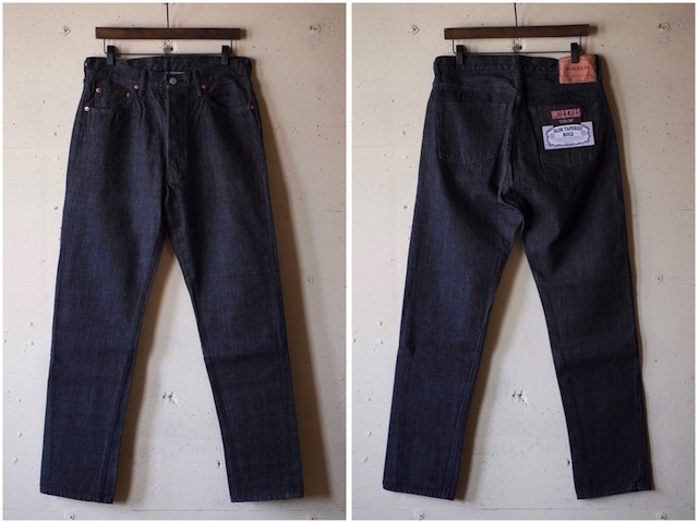 WORKERS Lot.802 Slim 13.75oz Black Jeans OW-4