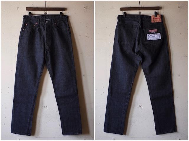WORKERS Lot.802 Slim 13.75oz Black Jeans OW-4