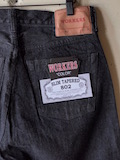 WORKERS Lot.802 Slim 13.75oz Black Jeans OW-Link