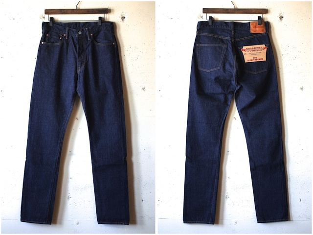 WORKERS Lot.802 Slim Tapered Jeans-4