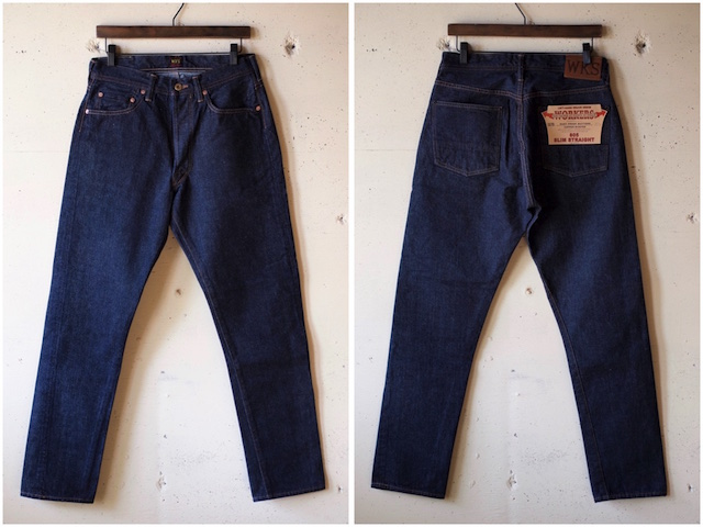WORKERS Lot.805 Super Slim Jeans 13.75oz Left Hand Weave Denim-4