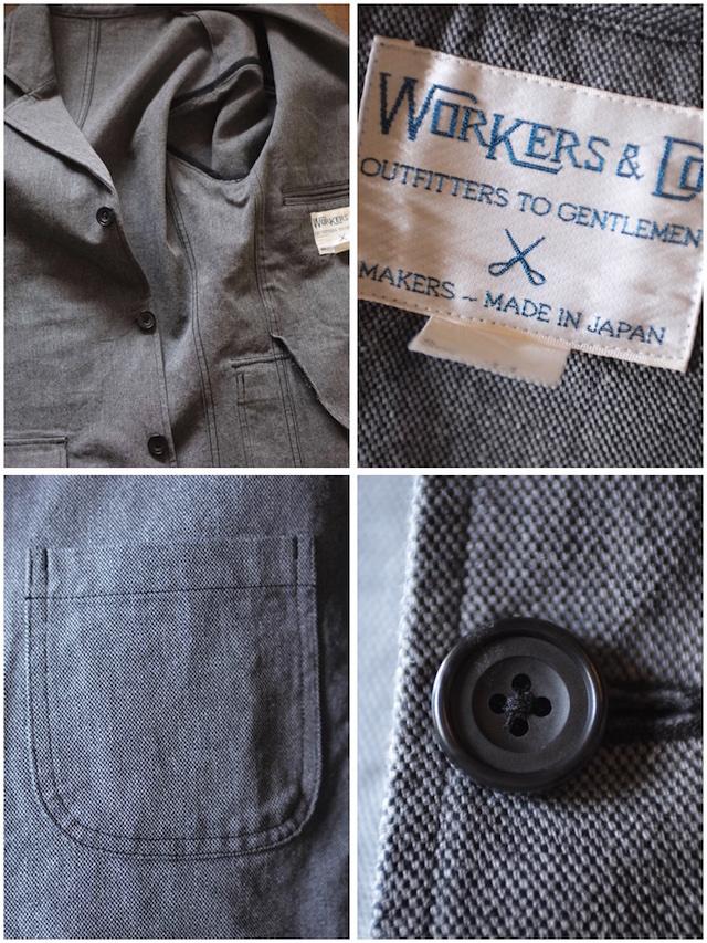 WORKERS Lounge JKT Grey Heavy OX-7