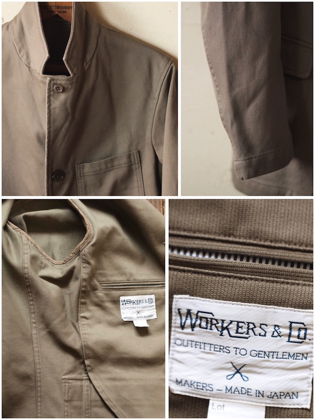 WORKERS Lounge JKT Beige Pique-7