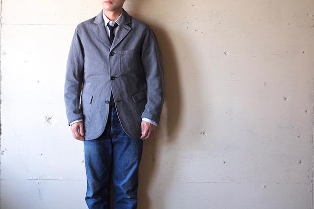 WORKERS Lounge JKT Grey Heavy OX-2