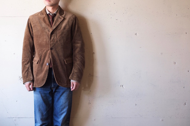 WORKERS Lounge JKT 太畝 Heavy Corduroy Brown-2