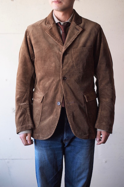 WORKERS Lounge JKT 太畝 Heavy Corduroy Brown-3