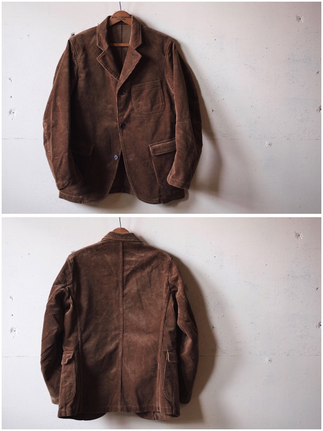 WORKERS Lounge JKT 太畝 Heavy Corduroy Brown-4