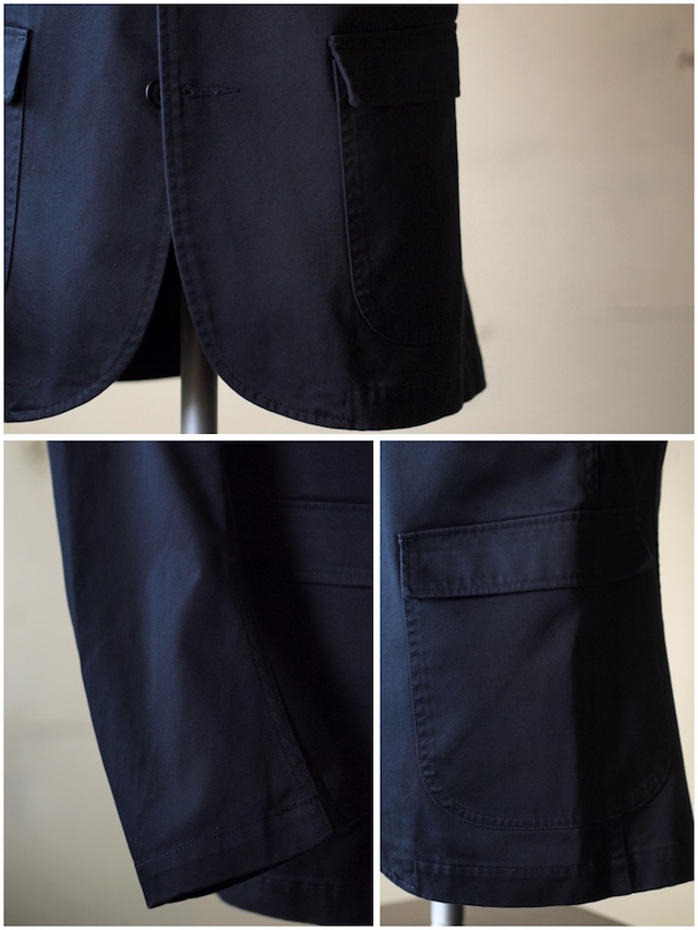 WORKERS Lounge JKT Navy Chino-6