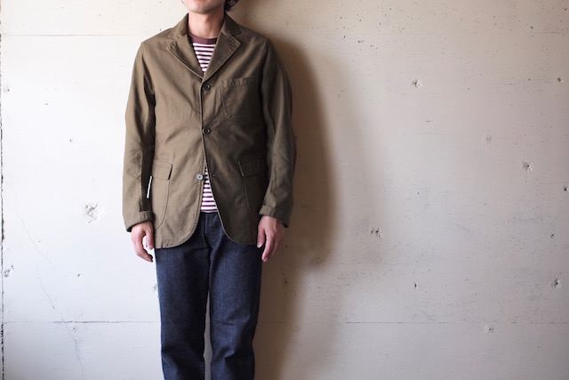WORKERS Lounge JKT Reversed Sateen OD-2