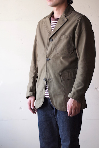 WORKERS Lounge JKT Reversed Sateen OD-3