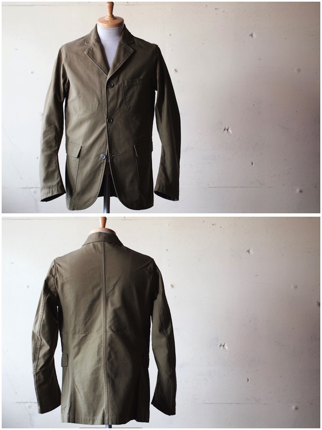WORKERS Lounge JKT Reversed Sateen OD-4