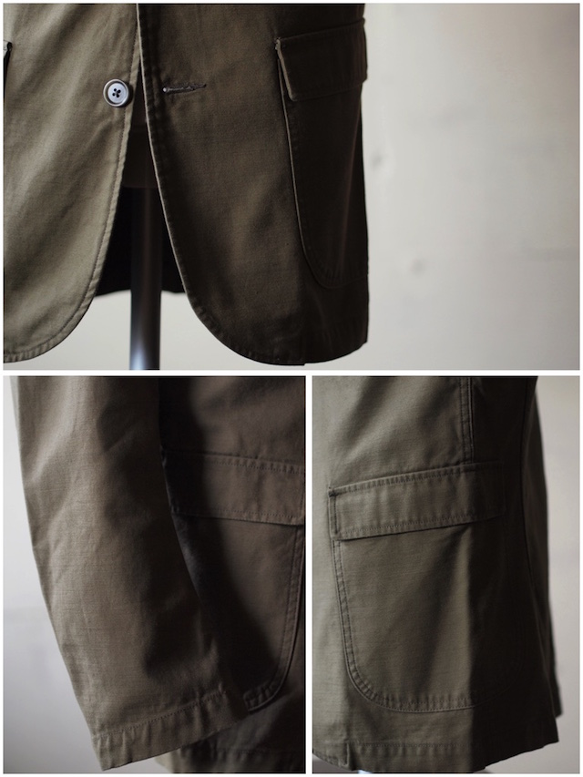 WORKERS Lounge JKT Reversed Sateen OD-6