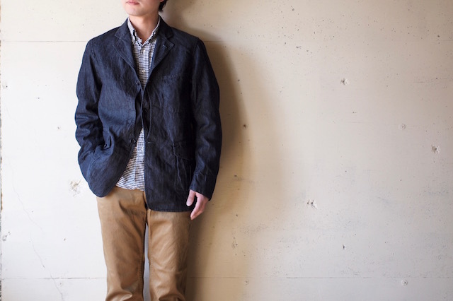 WORKERS Lt. Cruiser JKT 6oz Denim-2