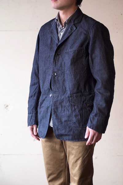 WORKERS Lt. Cruiser JKT 6oz Denim-3