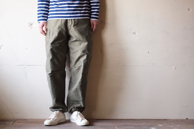 WORKERS M-65 Trousers Mod. Reversed Sateen OD-2