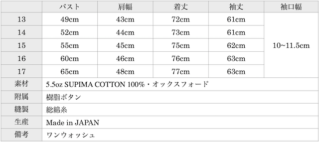 WORKERS Modified Fit Shirt 5.5oz Supima OX 2021-Graph