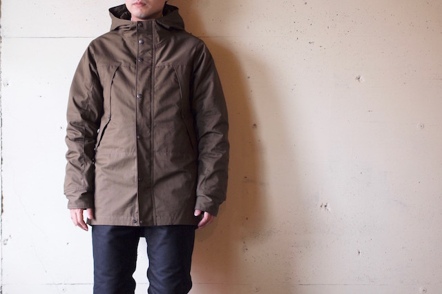 WORKERS Mountain JKT Cotton Ventile Russet-2