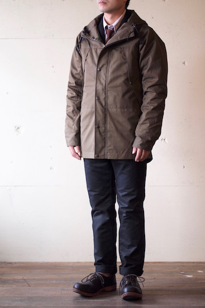 WORKERS Mountain JKT Cotton Ventile Russet-3
