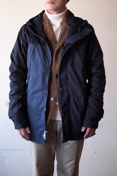 WORKERS Mountain JKT Ventile Type-A Top Black-3