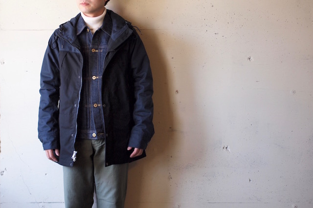 WORKERS Mountain JKT Ventile Type-B Top Navy-2